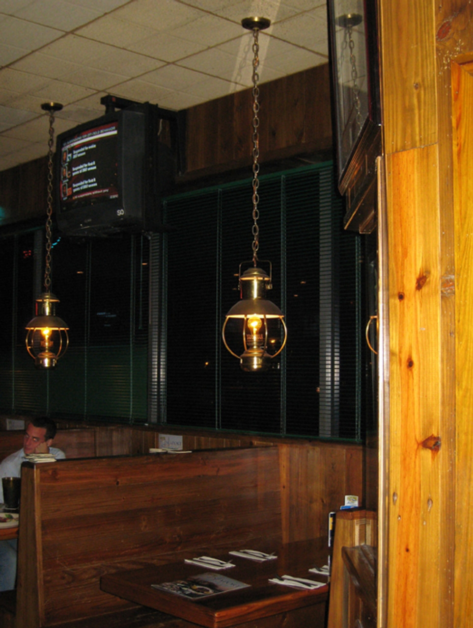 ale house hanging light