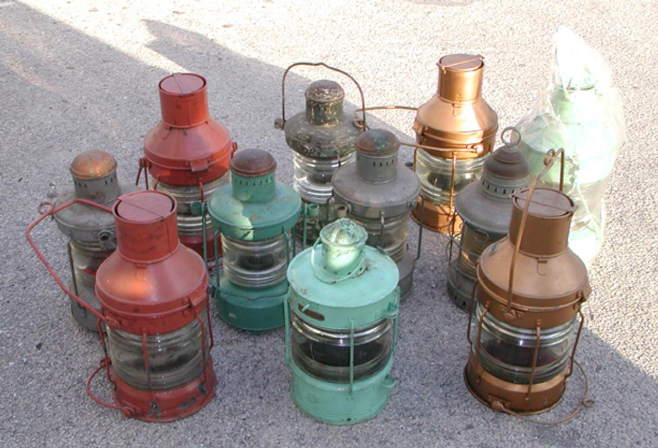 galvanized ship lights