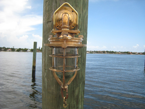 convoy nautical sconce light