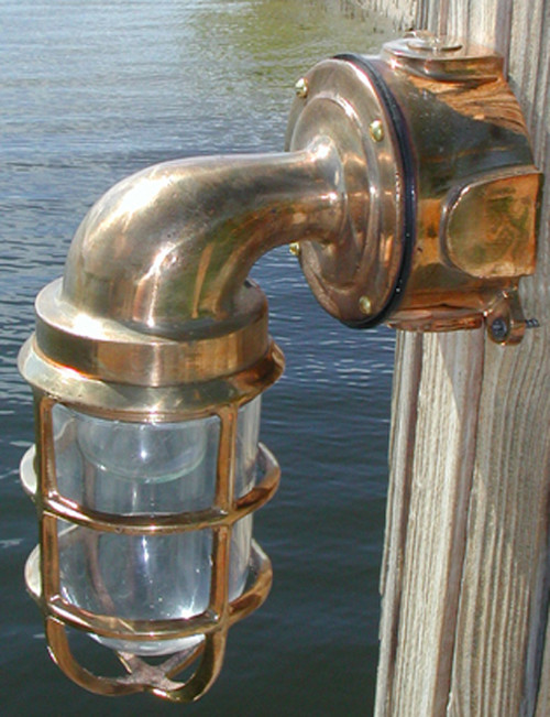 passageway nautical ship light