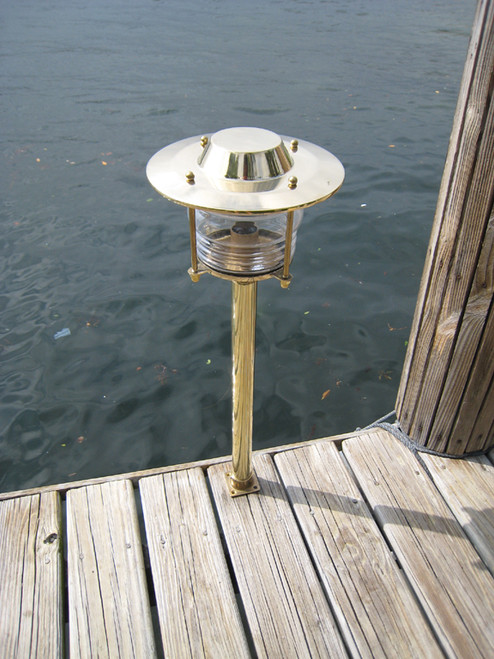 brass nautical light