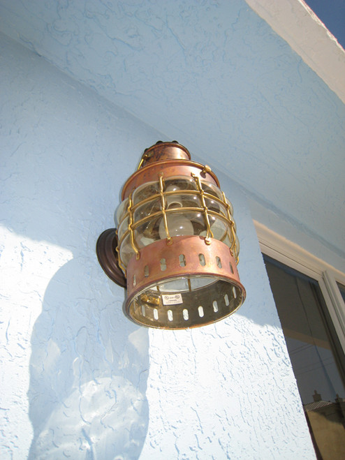 wall mounted ship light