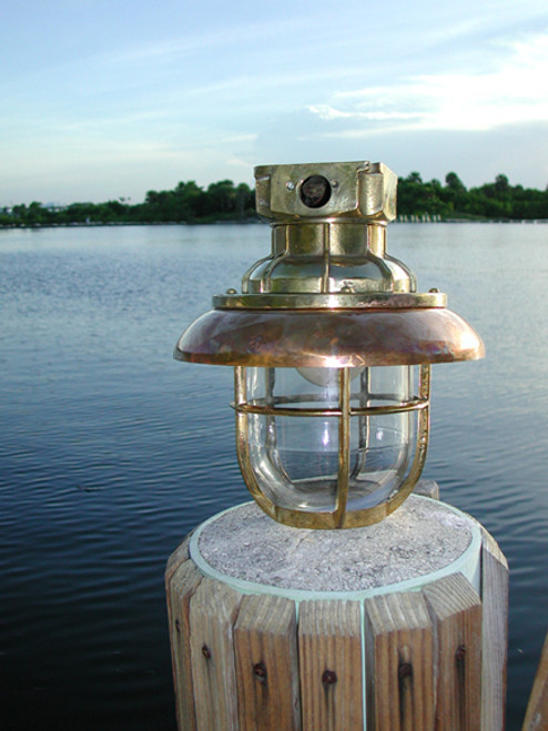 US Navy hanging ship light