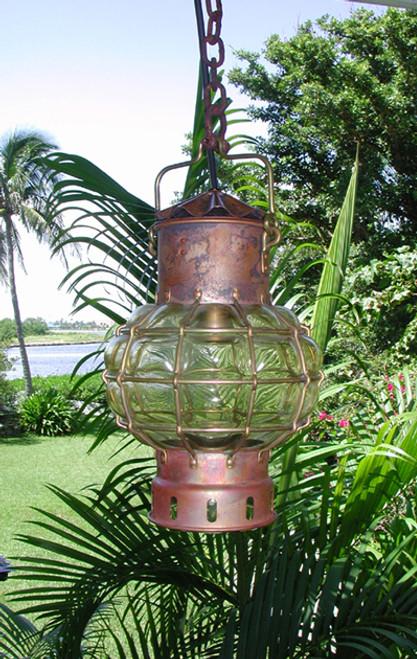 nautical ship's light pendant