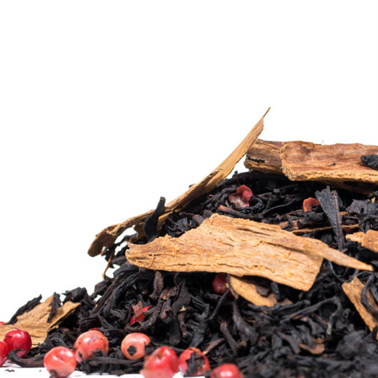 Spiced Orange Cinnamon Black is our incredibly popular Indian Assam black tea that unites just the right amount of sweetness, citrus and spice to create a full bodied and well balanced tea that is equally delicious when hot and iced. Steep: 1-1.5 tsp, Boiling Water, 3-5 Minutes