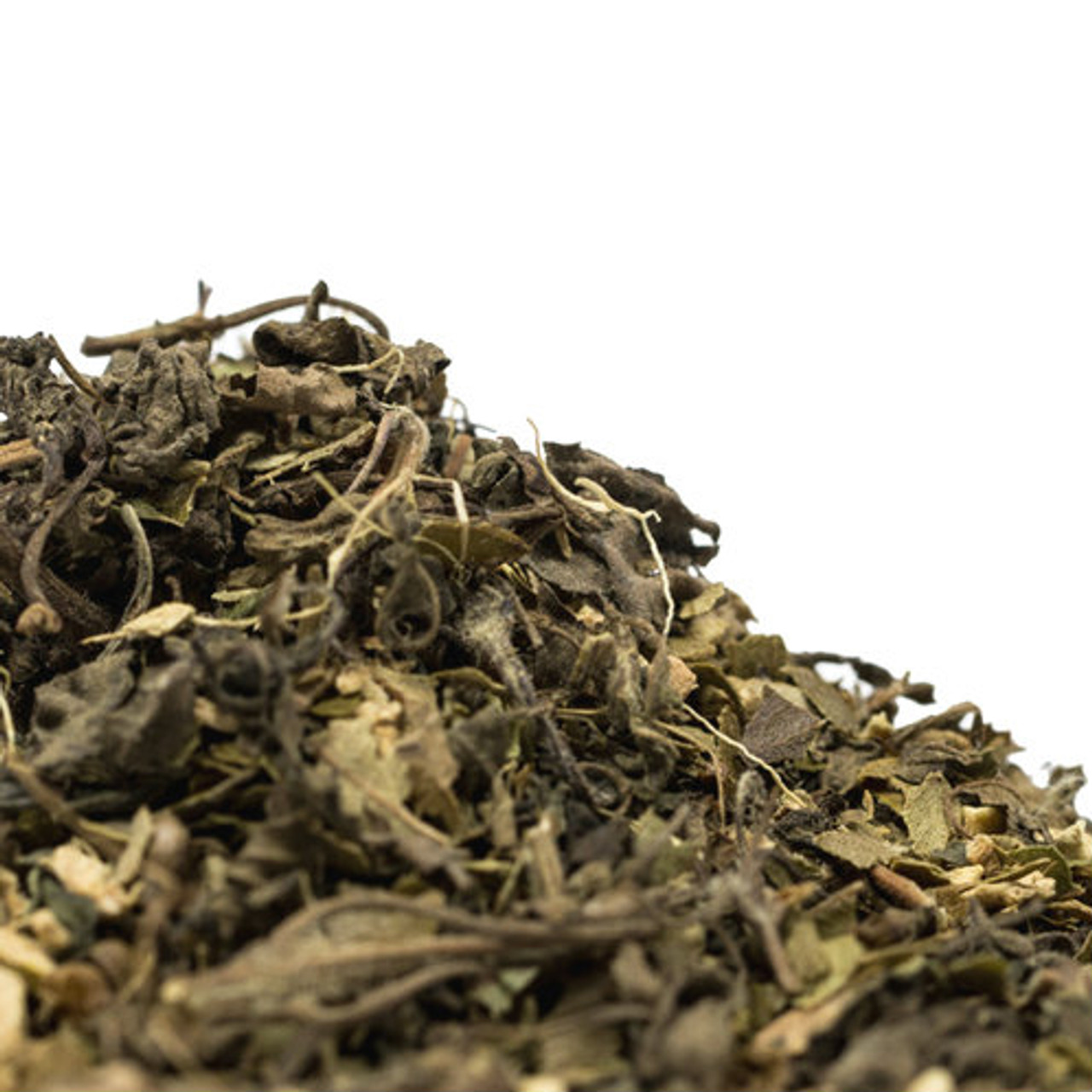 Lemon Ginger Tulsi is a caffeine free blend that fuses Krishna, Rama and Vana Tulsi along with ginger and lemon myrtle to create a delicious combination that provides a kick of ginger spice with a slight citrus tartness on the palate. Goes well hot and iced.
