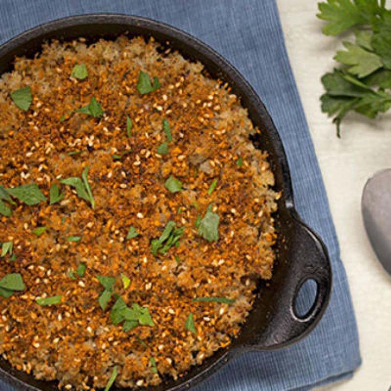 Cauliflower Couscous with Dukkah