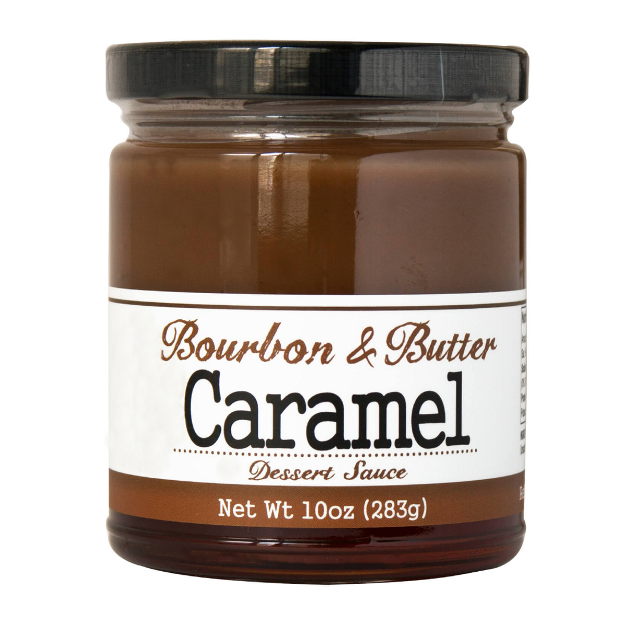 Bourbon & Butter Caramel - Incredibly rich and delicious, made with browned sweet cream butter and a bit of luscious bourbon.  Drizzle over ice cream, baked goods, cheesecake, bread pudding, grilled fruits, hot chocolate, lattes or fancy craft cocktails. Or eat it with a spoon, we won't tell!