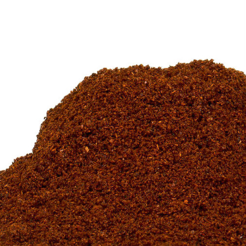 A staple in Tex-Mex cuisine this blend of chili peppers gives a deep rich flavor is earthy and slightly sweet and color is used Southwestern dishes, chili, tacos, tamales, enchiladas and beans and is used to season chicken or beef before roasting or grilling. Our Dark Chili Powder is made from deep, dark rich chilies which yields a sweeter flavor than our light chile powder and is slightly hotter than our light chili powder. Consider using it on chocolate for the combination of spicy and sweet!