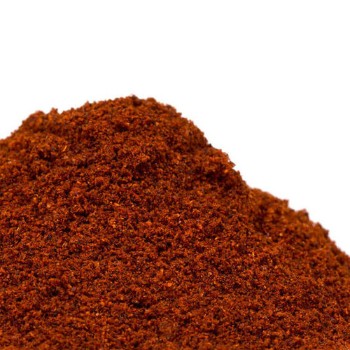 Chipotle powder is made by finely grinding jalapeno peppers that were slowly smoked over a natural wood fire. This slow smoking imparts a wonderfully smoky and spicy flavor to whatever it is added to. Use them in enchilada sauces, chili, stews, BBQ ribs and corn bread. Their smoky flavor complements poultry, meats and fall squash. Perfect addition to marinades, spice rubs, or a traditional adobo. Their moderate heat level ranges from 15,000 to 35,000 on Scoville Heat Scale.