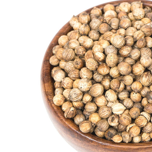 Our Coriander seeds are warm, nutty and spicy with an essence reminiscent of citrus peel and sage. Saute apples, onion and pickle for a sweet relish. Sprinkle onto roasted vegetables drizzled in olive oil. Use in curries and spice rubs.