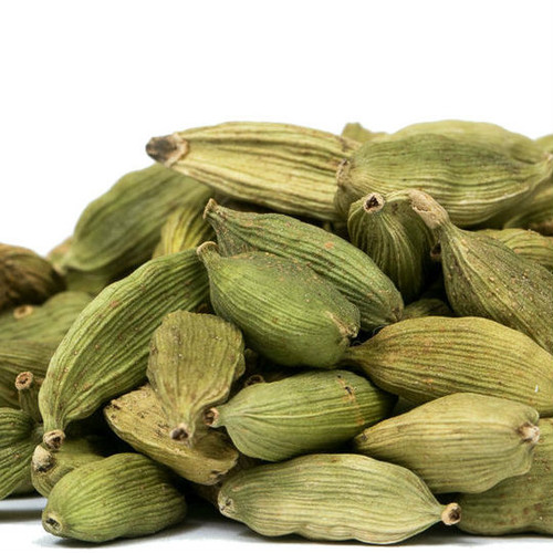 Green Cardamom seeds come wrapped in a paper-like shell (pod), holding their warm, spicy-sweet flavor and delicate floral aroma. Incorporate in baked goods for spicy-sweet flavor. Add to seasonings for chicken, duck, red meats, lentils, curries. Include in chai tea infusions.