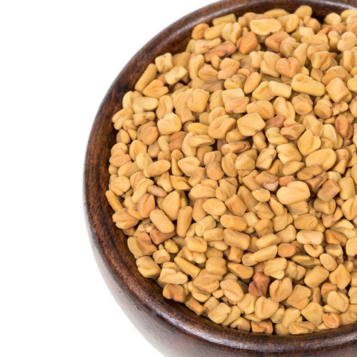 Fenugreek Seeds are native to the eastern Mediterranean and provide a good source of protein, vitamins and minerals and is very useful in a vegetarian diet. Uncooked fenugreek tastes bitter and very disagreeable. It is often lightly dry roasted before use to mellow the flavor. Fenugreek has a strong aromatic smell similar to that of celery or lovage and dominates commercial curry powder. Common in Indian curries. Blended in Ethiopian breads. Incorporate into pickling spices.