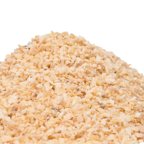 Granulated Garlic is a convenient way to add the pungent, savory flavor of garlic to a recipe without the time and hassle of preparing fresh garlic. Use anywhere you would use fresh garlic. Great in marinades and salad dressings. Add to spice and seasoning mixes for meat, fish and vegetables. Mix with aioli for a delicious dip for vegetables, chips or French fries. Toss with potatoes before roasting. Mix with salt to make a flavor-packed seasoning for popcorn or potato chips.