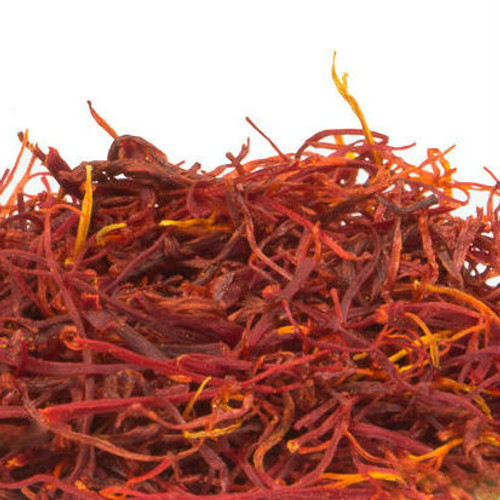 Saffron Threads are the dried stigmas of the saffron crocus flower. It is the most expensive spice in the world because each crocus produces only three stigmas, which are laboriously hand harvested during only three weeks of the year. Delicate flavor compliments light meats, fish and poultry. Use to season pilaf, Italian risotto and Mexican rice. Gives bouillabaisse its heady aroma and golden color. Saffron loses flavor after long periods of cooking, so it is best added to a dish near the end of preparation.