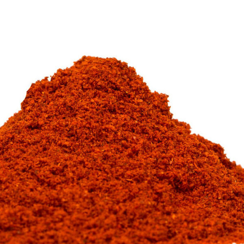 Our Smoked Hot Paprika comes from Spain, where rounded, spicy red chile peppers are dried in an oak wood-burning oven before being ground. It is bright red in color and tastes smoky and intensely spicy. Lends rich red color, spice and subtle smokiness to cream-based sauces and soups. A delicious complement to poultry, pork and shrimp. Add to stews featuring beans, lentils, sausage, chicken, shrimp or other seafood for a deep, complex flavor component.