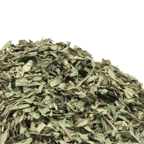 The best dried tarragon is the French variety and French Tarragon boasts a delicate, anise-like flavor with hints of mint and pepper. It is most famous for its role in French bearnaise sauce and the herb mix Fines Herbes. Its flavor adds a great deal to lighter dishes such as poultry, fish and eggs. Combine with mustard, olive oil and white wine vinegar for a delicious salad dressing. Use to season shrimp, chicken, vegetable and egg dishes. Infuse in bearnaise or hollandaise sauce.