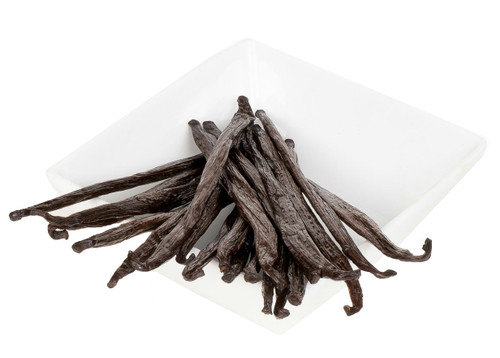 Madagascar Bourbon Vanilla Beans are produced on the island of Madagascar, one of the Bourbon Islands off the southeastern coast of Africa, where they are hand-harvested and sun cured to feature a sweet, richly aromatic fragrance and smooth, buttery, creamy vanilla flavor. Madagascar Bourbon Vanilla Beans are superior, with flavor and aromatic qualities that. make these beans the most popular and sought after vanilla variety. One bean equals one Tbs of pure vanilla extract, vanilla bean paste or vanilla powder.