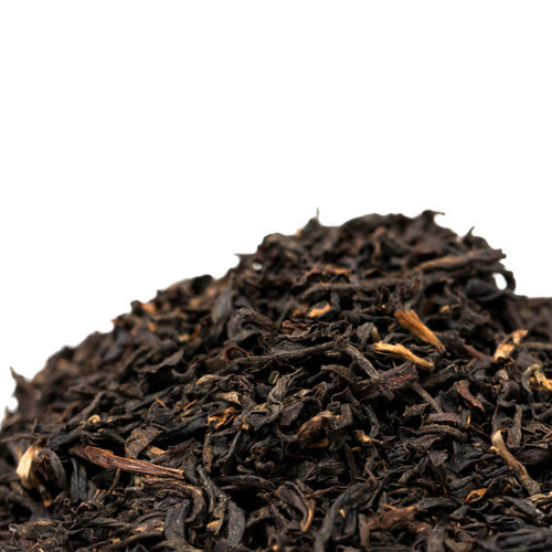 This Assam is a blend of black teas grown in the Brahmaputra Valley in India. The blend combines fine malty and rich Assam varieties to provide a more malty and robust full flavored taste. Also wonderful with milk. Steep: 1-1.5 tsp, Boiling Water, 3-4 Minutes