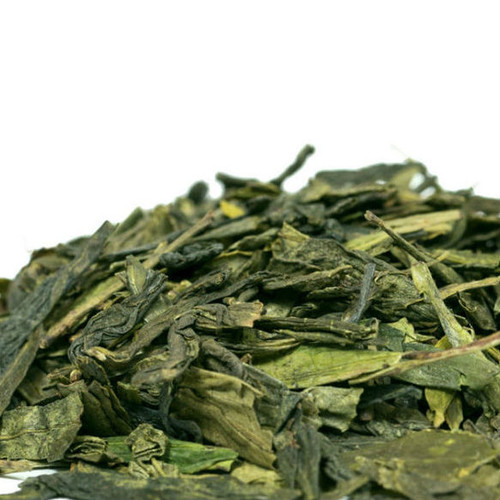 Dragon Well, Lung Ching, is perhaps Chinas most famous tea! Dragon Well is known for its chestnut- like and subtly sweet flavor, vegetal aroma, jade green color and distinctive leaf shape. Grown high in the mountains near Hangzhou, this tea is still handpicked and processed with the delicate care as it was 1,500 years ago, in spring, the top two leaves of the plant are harvested and then pan-fried and folded into its distinctive sword-like shape. Steep: 1-1.5 tsp, 175-185 degrees for 1.5-2 Minutes