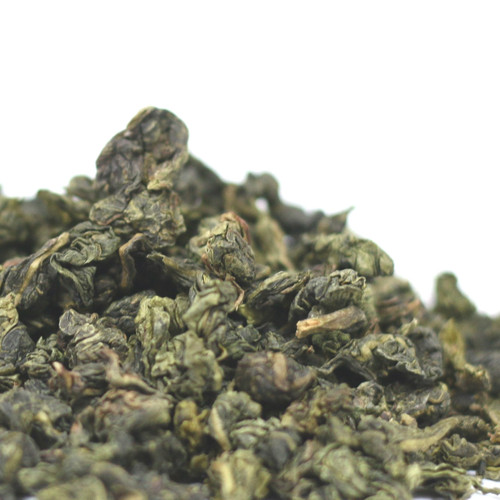 Iron Goddess of Mercy, Ti Kwan Yin, is our signature Chinese oolong and is highly recommended to the new oolong tea drinker. Iron Goddess is one of China's most popular Oolong teas and is 30-40% oxidized to produce a full-bodied texture, toasty aroma, and a bittersweet chocolate flavor. Steep: 1-1.5 tsp, 190-200 degrees for 2 Minutes