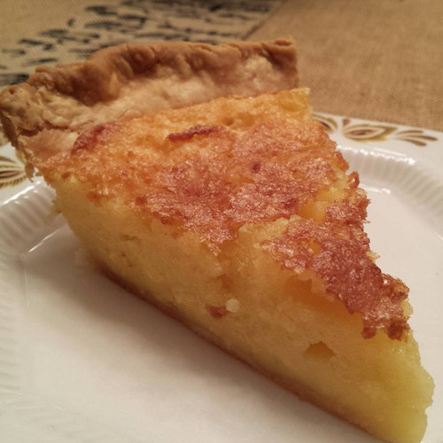 Buttermilk Lemon Chess Pie