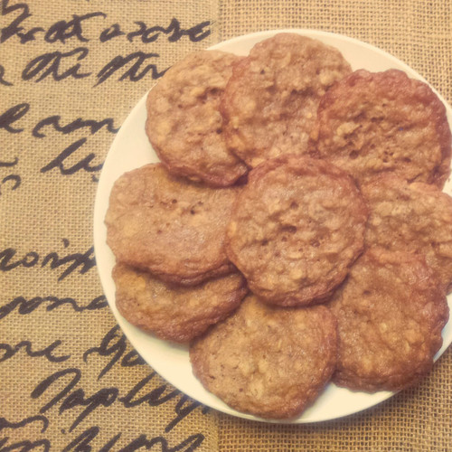 Chinese Five Spice Oatmeal Cookie