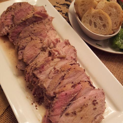 Creole Mustard Pork Tenderloin