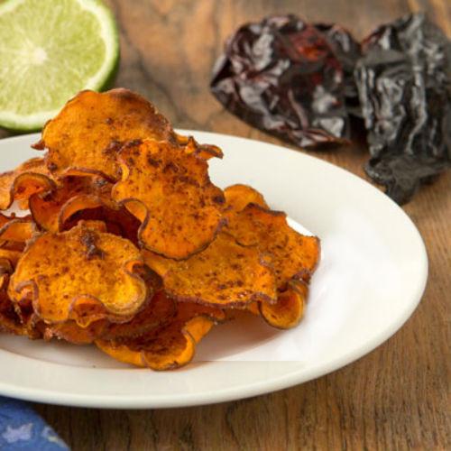 Chili-Lime Sweet Potato Chips