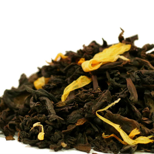 Lightly peach with blushing delicious astringency enhancing a Ti Kuan Yin Oolong.