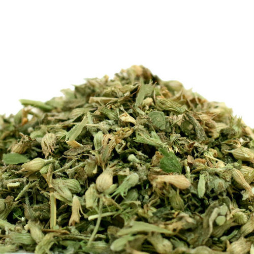 Commonly used by Do It Yourself home tea blenders, catnip, nepata cataria, can be brewed to produce an herbal tea that has a calming and relaxing effect on humans. Combine it with chamomile to increase the calming effect.