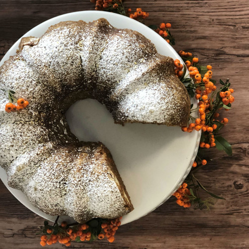 Surprise Carrot Cake with Cream Cheese Filling