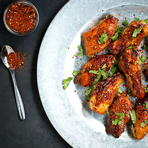 Chicken Wings with Shichimi Togarashi