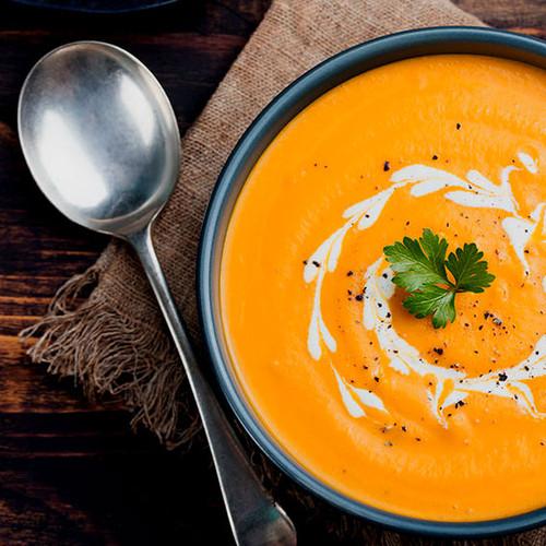 Pumpkin Coconut Ginger Soup