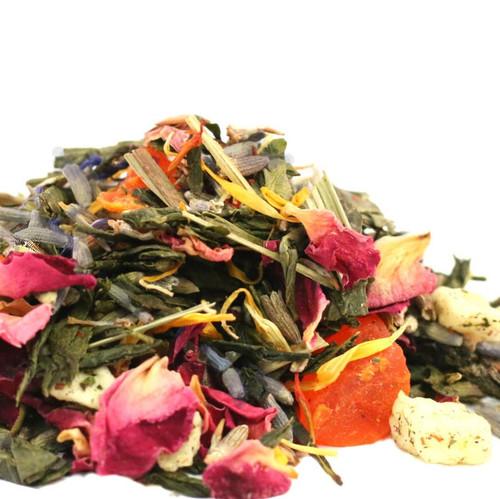 Lavender Peach Green Tea