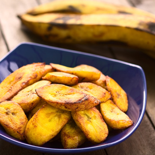 Caribbean Spiced Fried Plantains