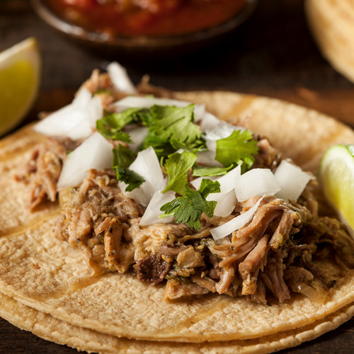 Ancho Braised Pork Tacos