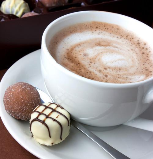Gourmet Chocolate Cherry Hot Cocoa