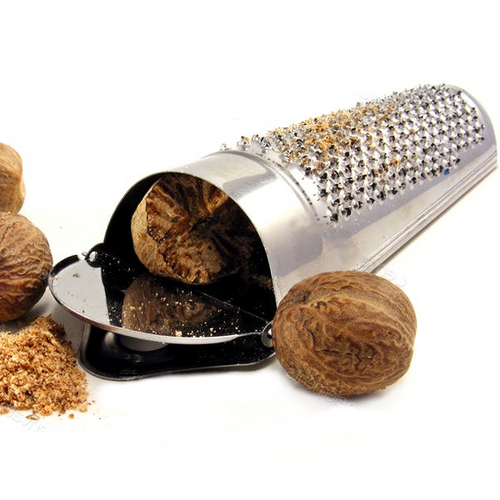 Whole Nutmeg Grater - Stainless Steel - The Spice and Tea Shoppe