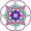 Jain 108 Magic Square 5x5 Decals x 2