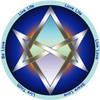 Jain 108 Unicursal Hexagram Decals x 2