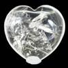 Clear Quartz Heart Large 9