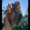 Large Smoky Twin Lemurian with Stand 35