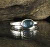 Indicolite Blue Tourmaline Ring 30