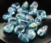 Aqua Aura Tumbled Stones