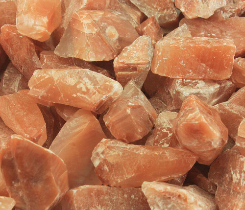 Red Calcite Rough Small