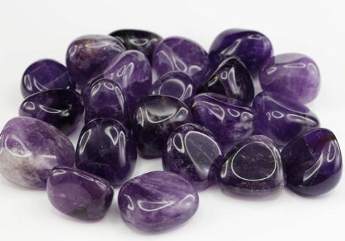 Dark Amethyst Tumbled Stones 6