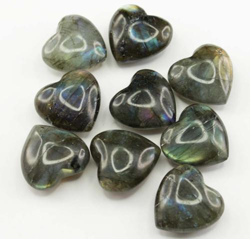 Labradorite Mini Heart