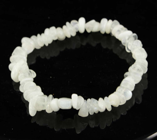 Rainbow Moonstone Chip Bracelet 8