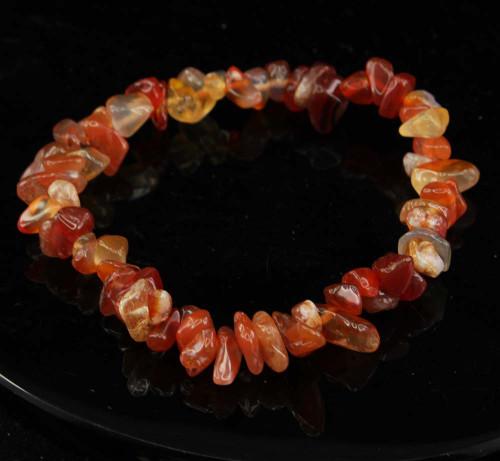 Carnelian Chip Bracelet 7